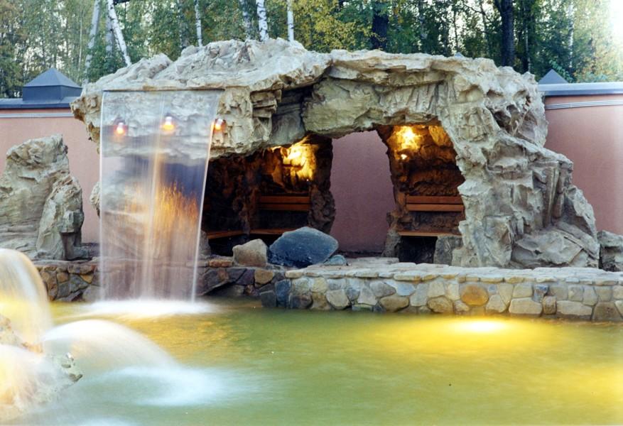 Садовые фонтаны и водопады своими руками 31